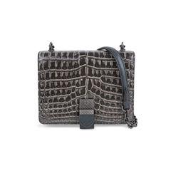 Mini Crocodile and Snakeskin Shoulder Bag