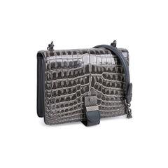 Bottega veneta mini crocodile and snakeskin shoulder bag 2?1545634997