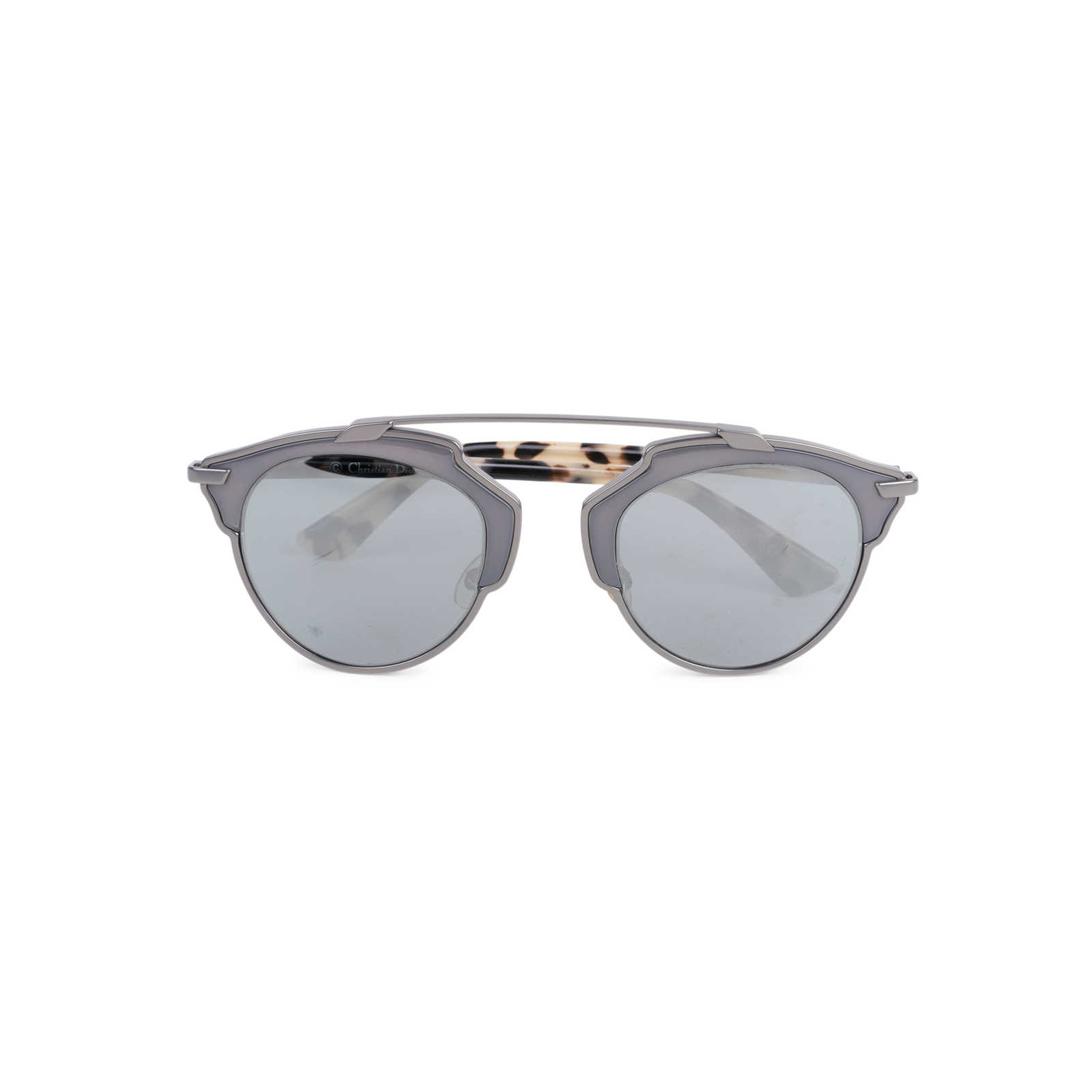 a8b2335bde Authentic Second Hand Christian Dior So Real Tortoiseshell Mirrored  Sunglasses (PSS-145-00263 ...