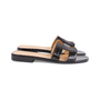 Authentic Second Hand Hermès Crocodile Oran Sandals (PSS-145-00266) - Thumbnail 4
