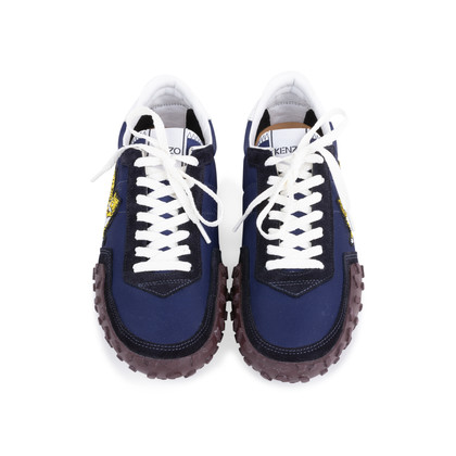 Authentic Pre Owned Kenzo MOVE Suede Sneakers (PSS-145-00267)