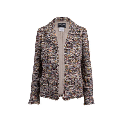 Authentic Second Hand Chanel Paris Monte Carlo Tweed Jacket (PSS-051-00428)