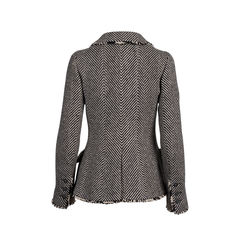 Chanel herringbone jacket 2?1545635188