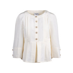 Peplum Pleated Jacket