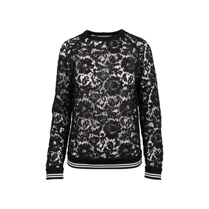 Authentic Second Hand Valentino Lace Sweatshirt (PSS-051-00434)