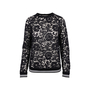 Authentic Second Hand Valentino Lace Sweatshirt (PSS-051-00434) - Thumbnail 0