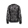 Authentic Second Hand Valentino Lace Sweatshirt (PSS-051-00434) - Thumbnail 1
