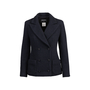 Authentic Pre Owned Chanel Camellia Button Tweed Jacket (PSS-051-00429) - Thumbnail 0