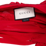 Authentic Second Hand Gucci Silk Ruffle Front Blouse (PSS-051-00442) - Thumbnail 3