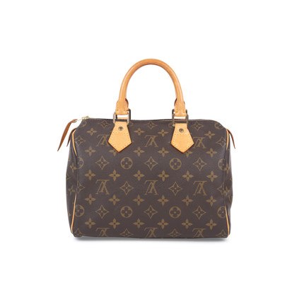 Authentic Pre Owned Louis Vuitton Monogram Canvas Speedy 25 (PSS-593-00001)