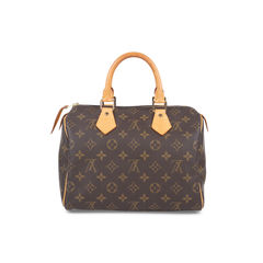 Monogram Canvas Speedy 25