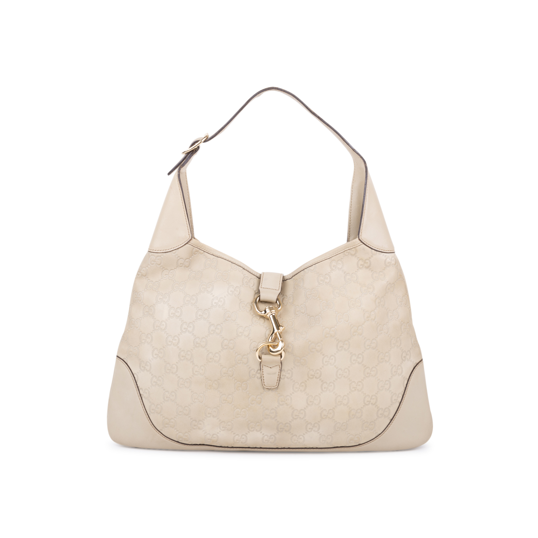 f5e32f1f368 Authentic Second Hand Gucci Jackie O Guccissima Shoulder Bag  (PSS-593-00002)