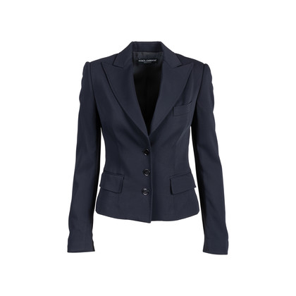 Authentic Second Hand Dolce & Gabbana Single Breasted Blazer (PSS-159-00003)