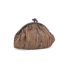 Bottega veneta knot clutch with karung trim 2?1545901893