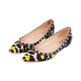 Authentic Pre Owned Valentino Leopard Print Rockstud Flats (PSS-159-00007) - Thumbnail 3