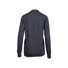 Prada grey wool cardigan 2?1545906639