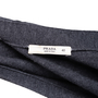 Authentic Second Hand Prada Grey Wool Cardigan (PSS-051-00448) - Thumbnail 2