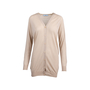 Authentic Pre Owned Prada Nude Long Cardigan (PSS-051-00449) - Thumbnail 0