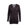 Authentic Second Hand Prada Brown Wool Long Cardigan (PSS-051-00452) - Thumbnail 0