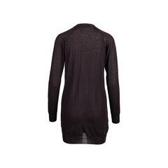 Prada brown wool long cardigan 2?1545906727