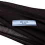 Authentic Second Hand Prada Brown Wool Long Cardigan (PSS-051-00452) - Thumbnail 2