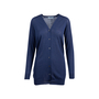 Authentic Pre Owned Prada Navy Wool Long Cardigan (PSS-051-00453) - Thumbnail 0
