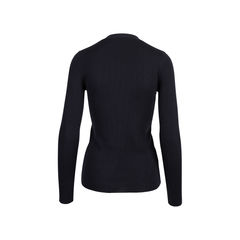 Prada black cashmere blend silk cardigan 2?1545906804