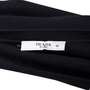Authentic Pre Owned Prada Black Cashmere Blend Silk Cardigan (PSS-051-00456) - Thumbnail 2
