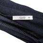 Authentic Second Hand Prada Grey Silk Ribbed Cardigan (PSS-051-00458) - Thumbnail 3