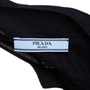 Authentic Second Hand Prada Pocket Detail Ribbed Cardigan (PSS-051-00459) - Thumbnail 2