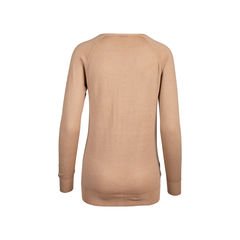 Prada camel wool silk blend sweater 2?1545906944