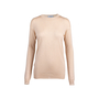 Authentic Pre Owned Prada Nude Round Neck Wool Blend Sweater (PSS-051-00461) - Thumbnail 0