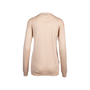 Authentic Pre Owned Prada Nude Round Neck Wool Blend Sweater (PSS-051-00461) - Thumbnail 1