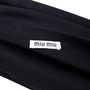 Authentic Pre Owned Miu Miu Cashmere Blend Cardigan (PSS-051-00469) - Thumbnail 2