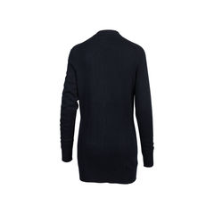 Chanel long cashmere cardigan 2?1545907163
