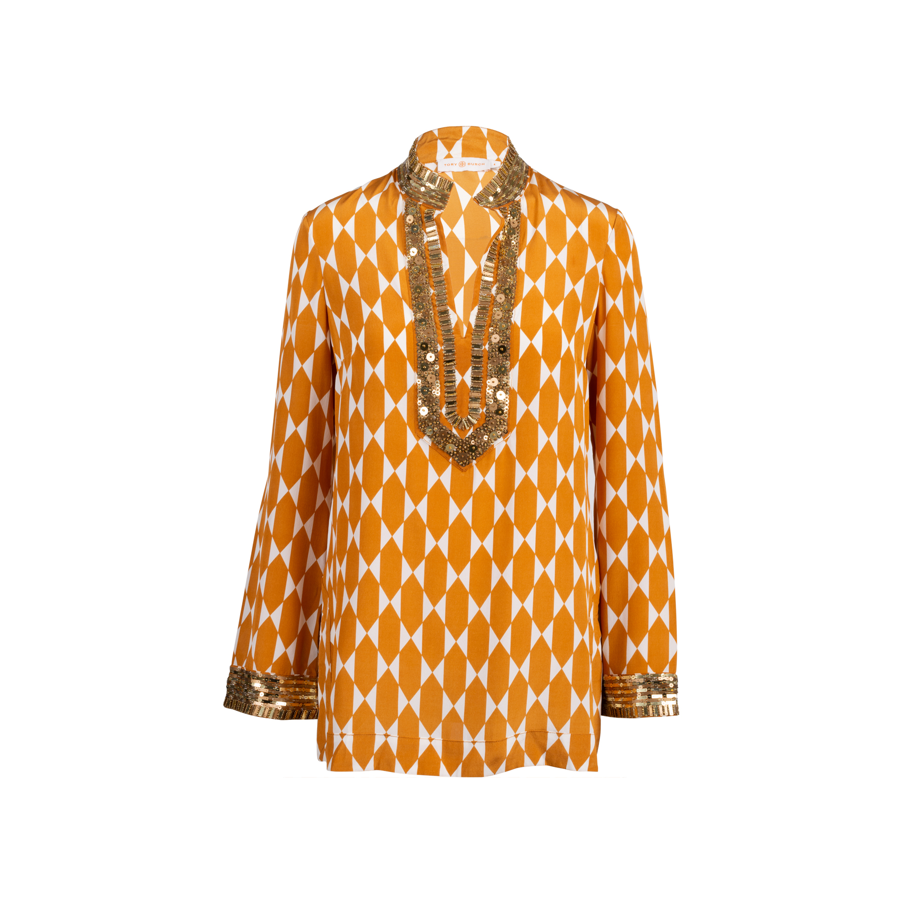 28f855bb4e2a Authentic Second Hand Tory Burch Silk Tunic Top (PSS-051-00481 ...