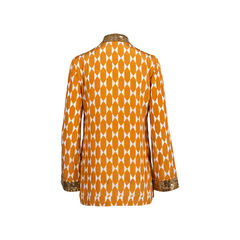 Tory burch silk tunic top 2?1545907232