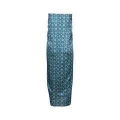 Biyan satin trumtum print skirt 2?1545907441