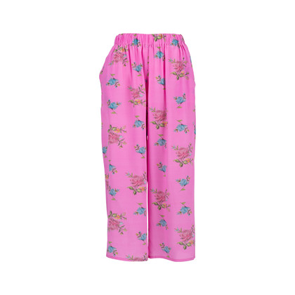 Authentic Pre Owned Natasha Zinko Floral Print Culottes (PSS-051-00436)