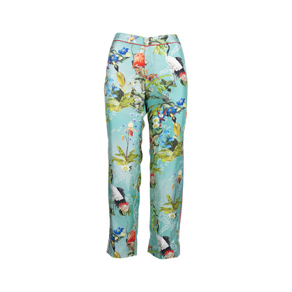 Authentic Second Hand F.R.S For Restless Sleepers Ceo Silk Trousers (PSS-051-00440)