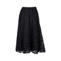 Authentic Pre Owned Valentino Full Heavy Lace Skirt (PSS-051-00441) - Thumbnail 1