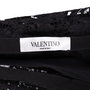 Authentic Pre Owned Valentino Full Heavy Lace Skirt (PSS-051-00441) - Thumbnail 2