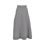 Authentic Second Hand Sonia Rykiel Striped Midi Skirt (PSS-051-00462) - Thumbnail 0
