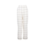 Authentic Second Hand Valentino Windowpane Silk Trousers (PSS-051-00465) - Thumbnail 0