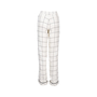 Authentic Second Hand Valentino Windowpane Silk Trousers (PSS-051-00465) - Thumbnail 1
