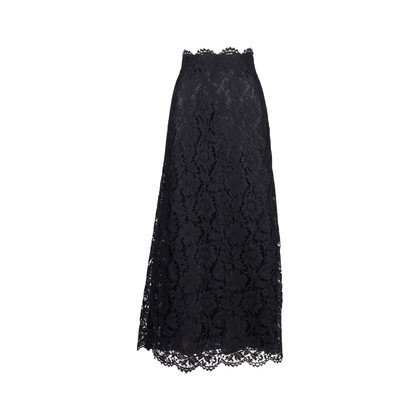 Authentic Pre Owned Valentino Guipere Lace Maxi Skirt (PSS-051-00476)
