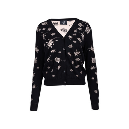 Authentic Second Hand McQ Alexander Mcqueen Bugs Knit Sweater (PSS-059-00035)