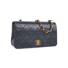Chanel single flap bag black 2?1546094328