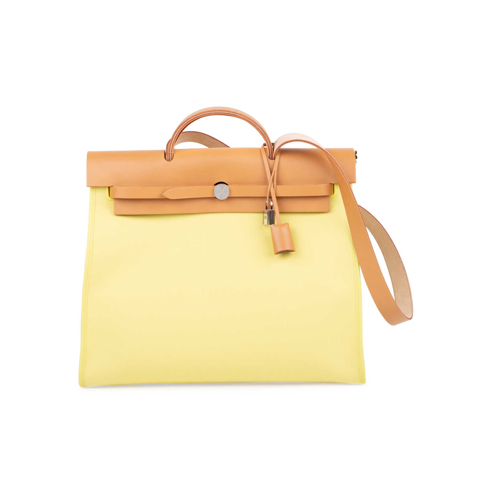 44469311d982 Authentic Second Hand Hermès Soufre Herbag Zip MM (PSS-600-00002) ...