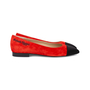 Authentic Pre Owned Chanel Gabrielle Flats (PSS-600-00005) - Thumbnail 4